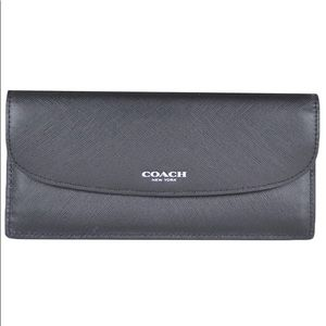New! Coach Darcy Slim leather wallet